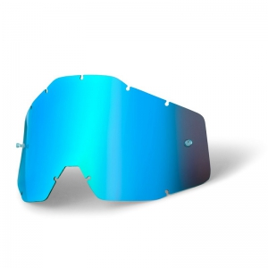 Ersatzglas für 100% Racercraft/Accuri Brille in Blau verspiegelt