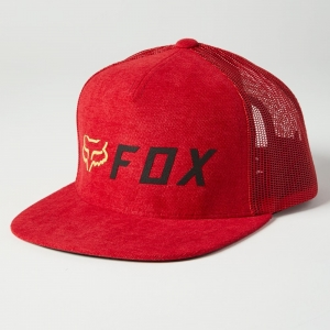 FOX SNAPBACK-KAPPE APEX Chili