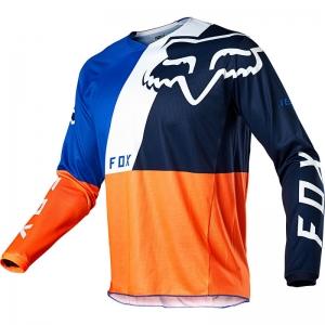 FOX 180 Lovl Jersey Orange/Blau Gr: L