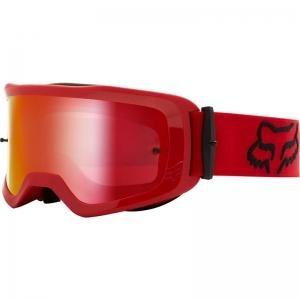 FOX Main MX-Brille Oktiv  flame red / Mirror Lens Chrome