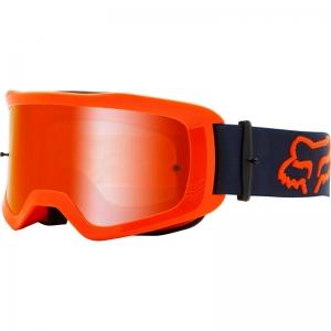 FOX Main MX-Brille Stray  flo orange / Mirror Lens Chrome