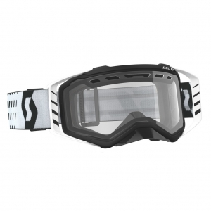 SCOTT Prospect Enduro Brille Black/White  /  Lens clear