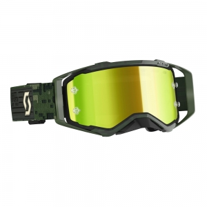 SCOTT Prospect Goggle Kaki Green/Yellow Chrome Works