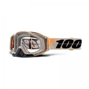 100% MX-Brille Racecraft Extra Poliet Mirror Clear