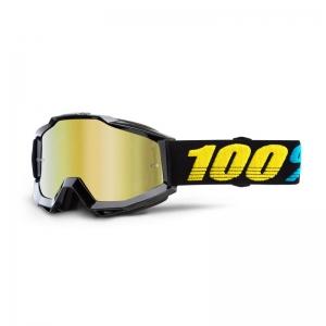 100% MX-Brille Accuri Extra Virgo Mirror Gold