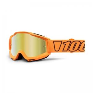100% MX-Brille Accuri Extra Luminari Mirror Gold