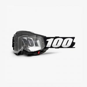 100% Accuri 2 Goggle Black - Clear Lens