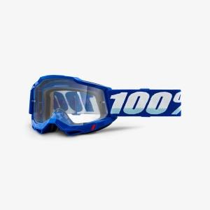 100% Accuri 2 Goggle Blue - Clear Lens