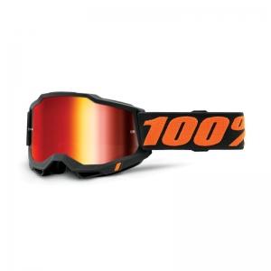 100% Accuri 2 Goggle Chicago - Mirror Red