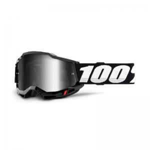 100% Accuri 2 Goggle Black - Mirror Silver