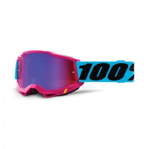 100% Accuri 2 Goggle Lefleur - Mirror Red/Blue