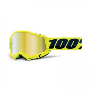 100% Accuri 2 Goggle Yellow - Mirror Gold