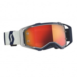 SCOTT Prospect MX Brille Grey/Dark / Orange Chrome Works
