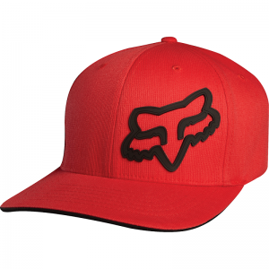 FOX Youth Signature Flexfit Hat Red