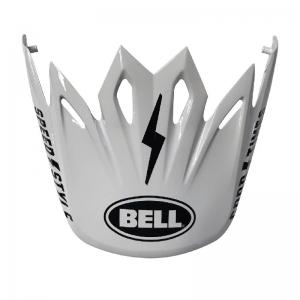 Bell Moto-9 Helm Visier Fasthouse White/Black