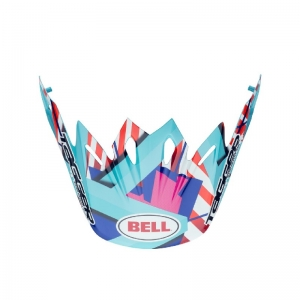 Bell Moto-9 Helm Visier Tagger Trouble blue