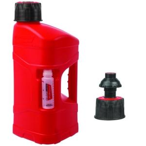 Polisport Pro Octane Kanister 10L mit Schnelltank-Kappe+ 125ml Öl Mixbehälter