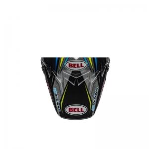 BELL Moto-9 Flex Pro Circuit Replica 19 Helmschild schwarz/grün