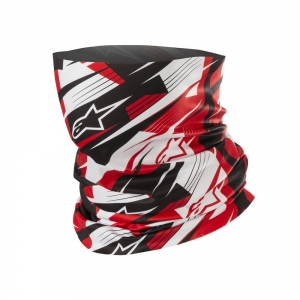 Alpinestars Neck Tube Black/White/Red