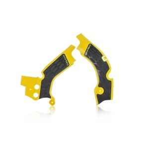 Acerbis Rahmenschützer X-Grip Suzuki RMZ450  08-17 gelb/schwarz