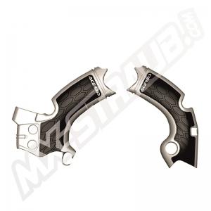 Acerbis Rahmenschützer X-Grip KXF250  17->  Grau/Schwarz