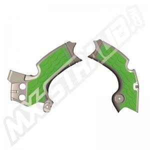 Acerbis Rahmenschützer X-Grip KXF250  17->  Grau/Grün