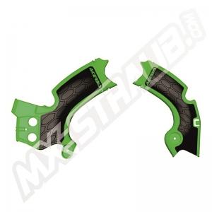 Acerbis Rahmenschützer X-Grip KXF250  17-20  Grün/Schwarz