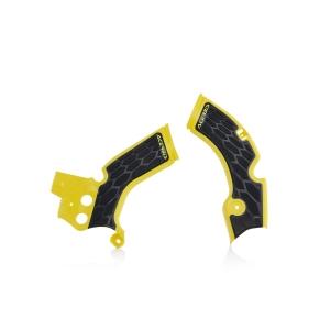Acerbis Rahmenschützer X-Grip Suzuki RMZ250  10-18 gelb/schwarz