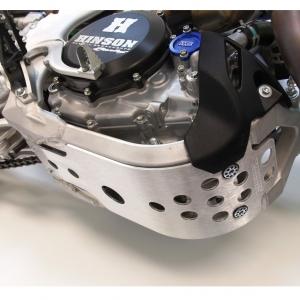 Works Connection Motor-Schutzplatte Kawasaki KXF 450 19-
