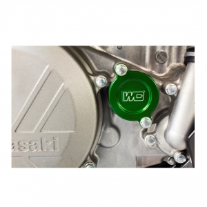 Works Connection Ölfilter Deckel KXF450  16-21 Grün