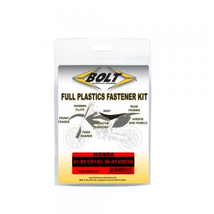 BOLT Schraubenkit für Plastikteile CR125 91-92 / CR250 90-91