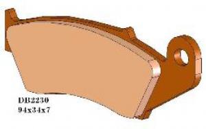 DELTA Bremsbelag DB2230MX-D vorn CR(F), RM(Z), KX(F), YZ(F), GASGAS