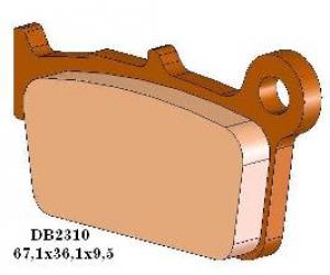 Delta Braking Bremsbeläge DB2310MX-D  KXF/RMZ/YZ(F) hinten