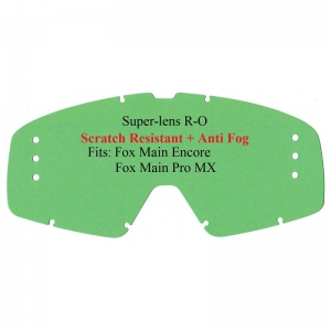 Ersatzglas FOX Main Pro/Encore R-OFF kratzf. klar