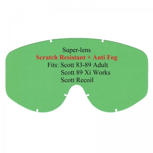 Ersatzglas Scott 83-89/89Xi/Recoil klar