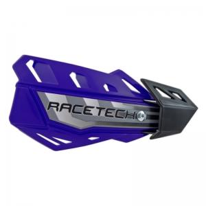 Race Tech FLX Handschalen universal blau mit Anbaukit