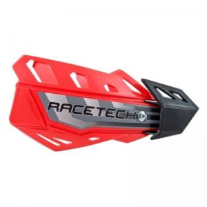 Race Tech FLX Handschalen universal rot mit Anbaukit