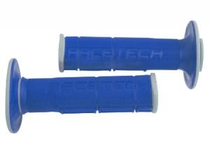 Griffgummi RACE TECH  DUAL  Farbe  grau/blau uni