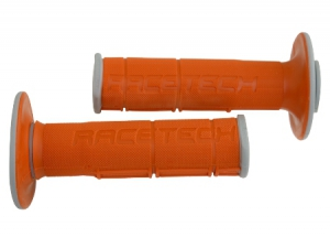 Griffgummi Race Tech  dual   Farbe  grau/orange