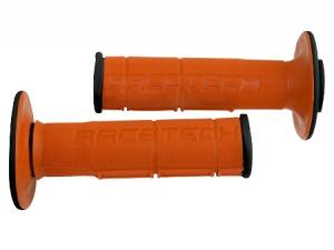 Griffgummi RACE TECH  DUAL  Farbe  schwarz/orange CR(F)+KTM