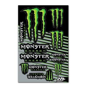 N-Style Monster universal Stickerkit V1