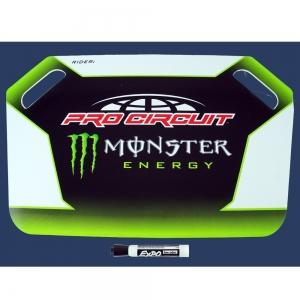 Monster Energy/Pro Circuit Anzeigetafel