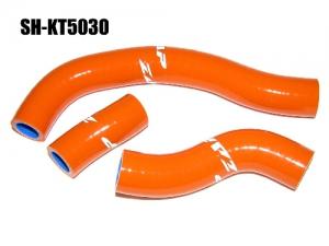 ZAP Silikon-Kühlerschlauch KTM SXF450 08-09 orange