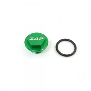 ZAP Öleinfüllschraube  KXF250/450 04-   grün