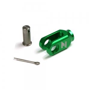 ZAP Einsteller Hinterradbremse KX/KXF M8 grün