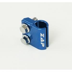 ZAP Halterung für Bremsleitung Yamaha YZ(F)125-450 05->  Blau