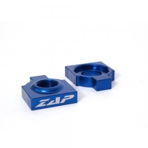 ZAP Achsenblöcke  KTM EXC 98-, SX(F) 98-12 blau
