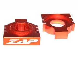 ZAP Achsenblöcke  KTM EXC 98-, SX(F) 98-12 orange