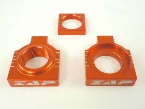 ZAP Achsenblöcke  KTM SX/F 2013- orange