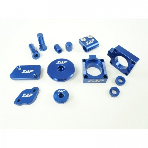 ZAP Bling Kit Yamaha YZ250F 14- 16, 450F 10- blau